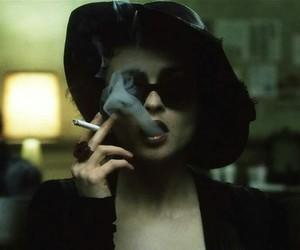 fight club, smoke, and cigarette image