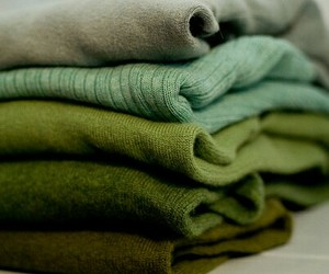 green, sweater, and clothes image
