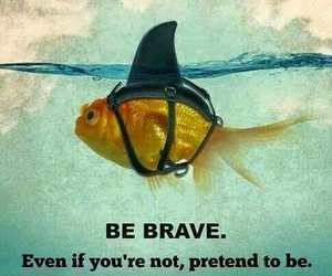 brave, quotes, and strong image