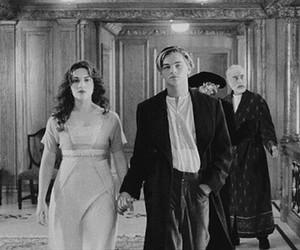 titanic, leonardo dicaprio, and film image
