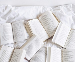 book, white, and read image