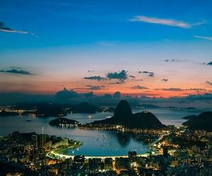 city, rio de janeiro, and brazil image