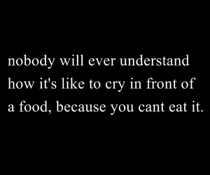 anorexia, qoute, and don't eat image