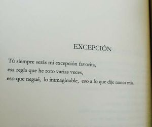 te quiero, frases en español, and corazón image