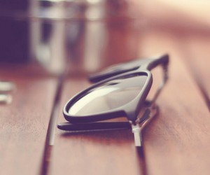 background, beautiful, and glasses image