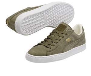 green, puma, and suede image