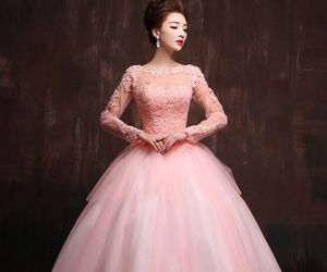 gown, dress, and elegant image