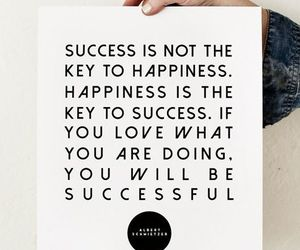 quotes, success, and happiness image