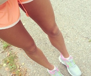 legs, fitness, and nike image