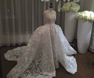 dress, style, and wedding dress image