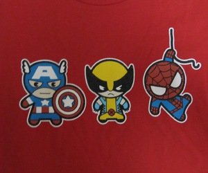 captain america, spiderman, and super heroes image