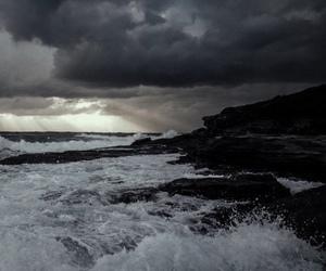 nature, sea, and grunge image