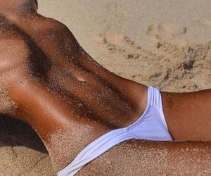 beach, girl, and nice image