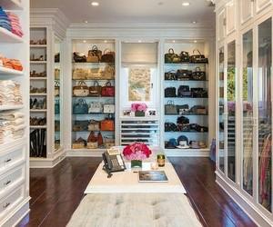 closet, clothes, and bag image