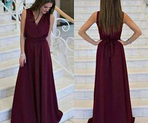 girl and prom dress image