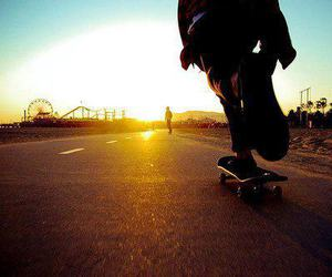 calle, parque, and skate image