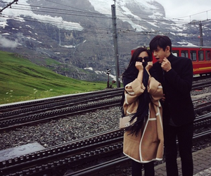 love, ulzzang, and asian couple image