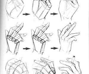 drawing, draw, and hands image