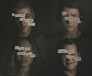 13 reasons why, clay, and alex image