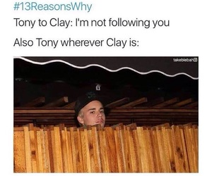 13 reasons why, funny, and meme image