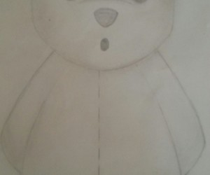 drawing, idee, and teddy image