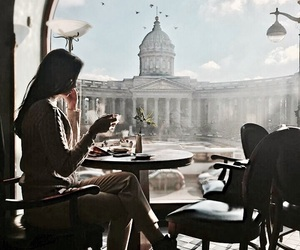 cafe, view, and love image