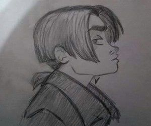 disney, draw, and jim hawkins image