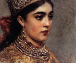 art, beauty, and russia image