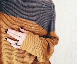 fashion, sweater, and style image