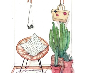 watercolor, drawing, and illustration image