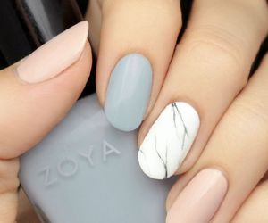 marble, nails, and blue image