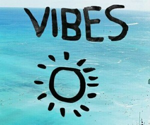 good vibes, summer, and beach image
