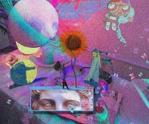 aesthetic, grunge, and vaporwave image