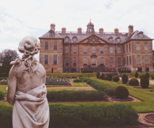garden, statue, and architecture image
