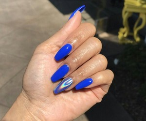 girls, nails, and pretty image