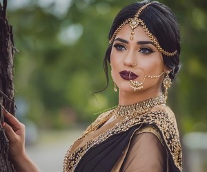 indian, wedding, and bride image