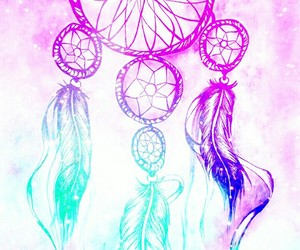 colorful, Dream, and dreamcatcher image