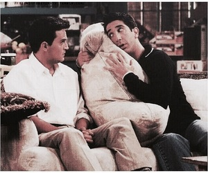 90s, chandler bing, and f r i e n d s image
