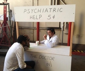 grey's anatomy, patrick dempsey, and funny image