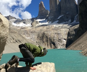chile, travel, and torres del paine image