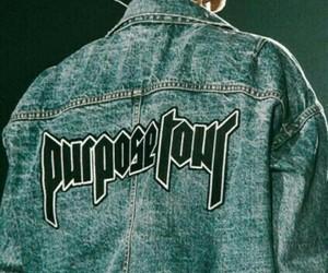 justin bieber, purpose, and purpose tour image