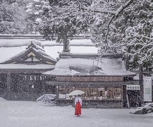 cold, japan, and Temple image