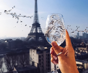 luxury, paris, and drink image
