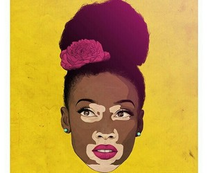 art, beauty, and black image