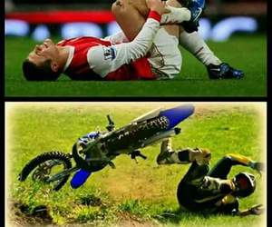 football, motocross, and motorcycle image