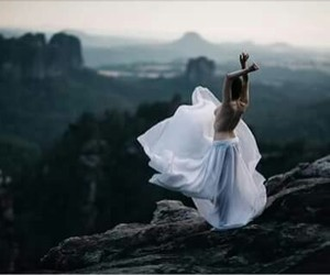 dress, freedom, and nature image