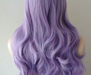 hair and pastel image
