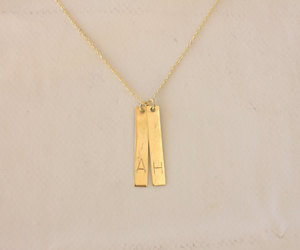 personalized, etsy, and minimalist necklace image