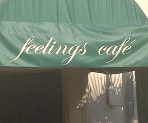 aesthetic, cafe, and feelings image