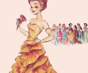 disney, princess, and belle image